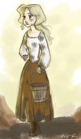 Peasant Girl by Vanilla-Fireflies