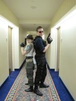 Rebecca and Wesker 2 by nerd-princess