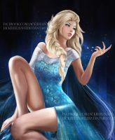 queen elsa by Jackiefelixart