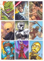 Star Wars Galaxies Sketch Cards 3 by C-McCown