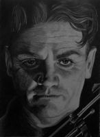 James Cagney by Sweenart