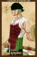 EPP - Alabasta: Zoro by SergiART