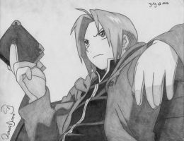 RQ: Edward Elric by RoXyBeaR147