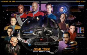 Deep Space Nine by 1darthvader