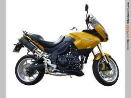Triumph Tiger 1050 right - STOCK by resMENSA