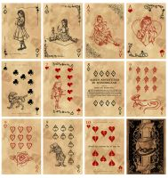 Alice in Wonderland Card Deck - Part 5 by Karla-Chan