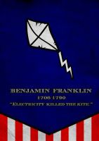 Benjamin Franklin Banner by Thothhotep
