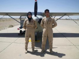 Afghan National Army military aircraft pilot by msnsam