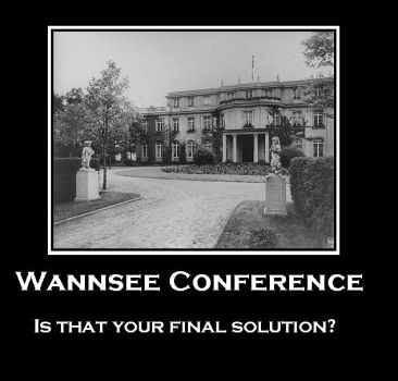Wannsee Conference by blackmariah27