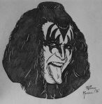 Gene Simmons Coin Art by Mr-Mordacious