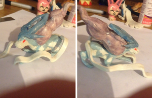 Clay Suicune by chimerakitty