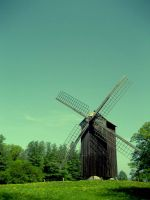 Windmill by MadRed