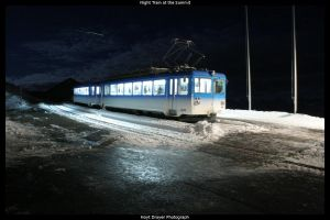 Night Train at the Summit by HerrDrayer