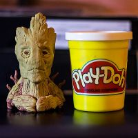 Groot Mini Bust by 13nin