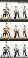 Dragonnest Cleric Costume Design by Coolnova