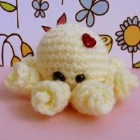 Pastel Yellow Baby Octopus by EssHaych