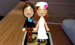 Wii GWizard and Wii Valeria's wedding outfits by GWizard777