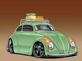Slammed Beetle by Britt8m