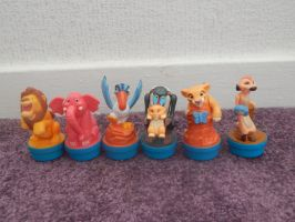 Lion King Simbas Pride Nestle Figures by LittleRolox3
