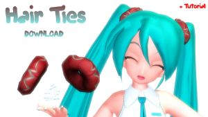 MMD DOWNLOAD: Hair Ties: by MsYelenaJonas