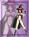 Black Witch by moai666
