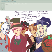 Ask 2p FrUK 55: How They Spend Halloween by Ask-2pFrUK