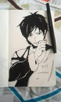 Izaya by LaliSteffanyA