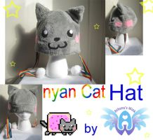 nyan cat hat by neoangelwink
