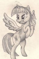 Angry Twilight Drawing by Graboiidz
