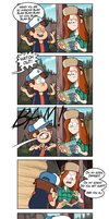 Dipper + Nosebleed = Hot by markmak