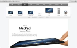 MacPad' promotion on apple's website. by WillViennet
