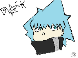 black star -made with tablet- by sjk246
