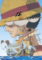 One Piece - Never Forget Color by ckymonarch