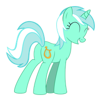 Lyra - That one mint colored pony by Internetianer