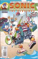 Sonic The Hedgehog - Issue 261 - Variant Cover by RedDevilDazzy2007