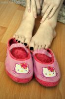 Kawaii Slippers Two by Foxy-Feet