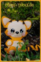 tiger plushie by quidditchmom