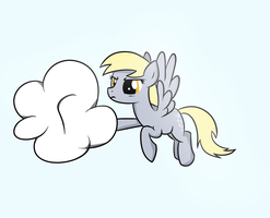 Stupid cloud by HeavyMetalBronyYeah