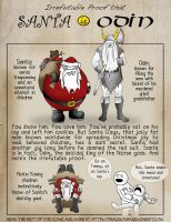 Irrefutable Proof that Santa is Odin by mirovia