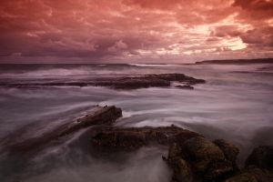 Merewether at Dusk by Snelvis
