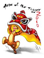 Year of the Tigger 2010 by icfiye