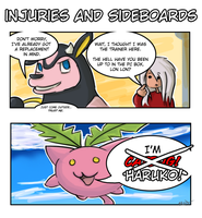 Injuries and Sideboards by ChthonicKhonri