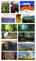 Color studies by Flaskpost