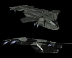 Halo - Pelican Dropship by todd587