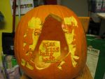 Kiss Kiss Bang Bang Pumpkin by adaytimesinner