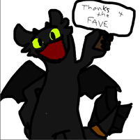 Toothless - thanks 4 the fave by Toothlessfaveplz