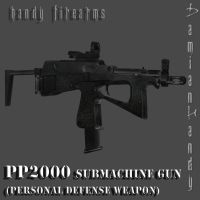 PP2000 Submachine Gun Mod by DamianHandy