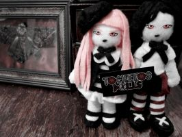 Tochitos Dolls, Dorian y  Samantha by TochitosDolls