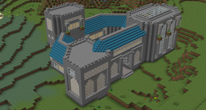Minecraft/Tekkit Manor by jehuty789