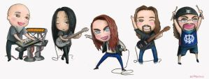 Dream Theater- Chibi Style by Beam-The-Chao
